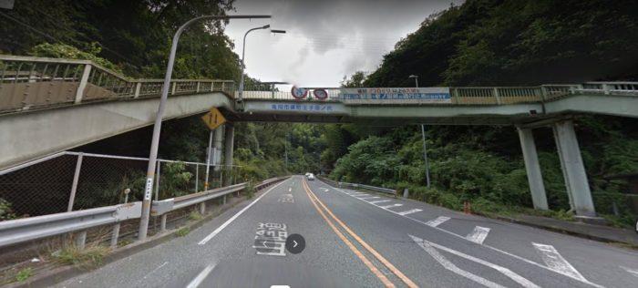 京都の老いの坂原付で走った