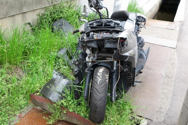 バイク王で処分される原付