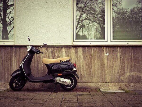 バイク手放す